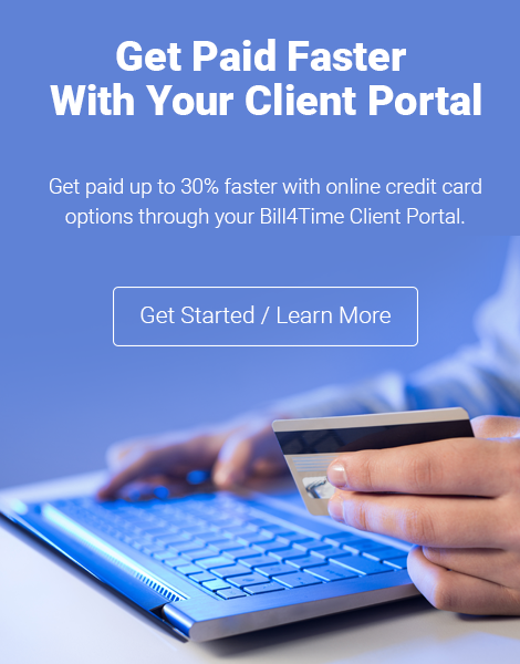 Get Paid Faster with your Client Portal!